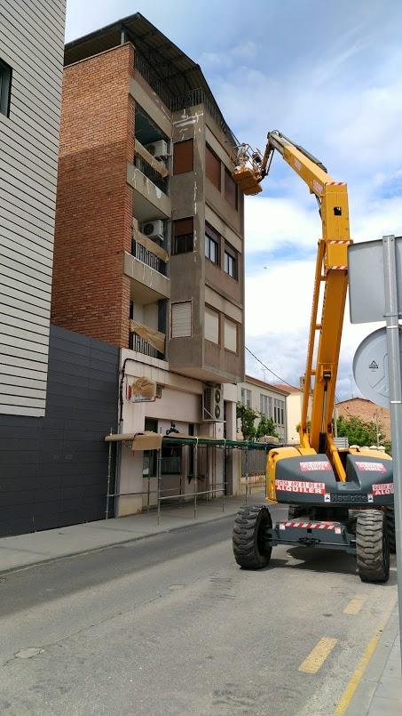 Projecte de rehabilitació d'una façana a Balaguer